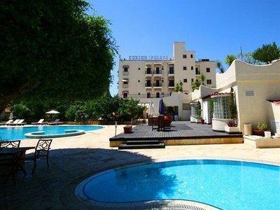 Отель Curium Palace Hotel 4* Лимассол Кипр