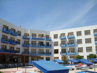 Отель Evalena Beach Hotel Apts 3* Протарас Кипр
