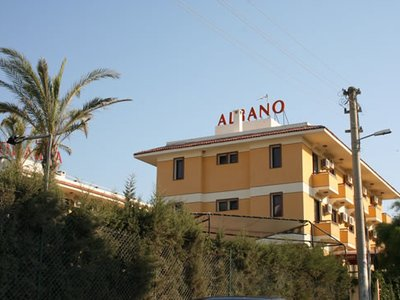 Отель Albano Hotel 3* Чешме Турция
