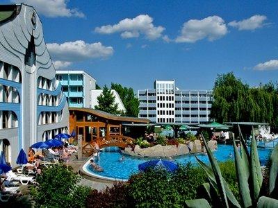 Отель NaturMed Carbona 4* Хевиз Венгрия