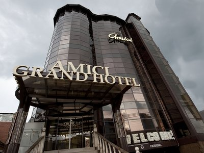 Отель Amici Grand Hotel 4* Краснодар Россия
