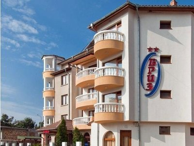 Отель Briz 2* Приморско Болгария