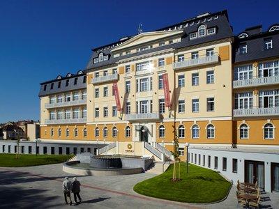 Отель Harvey Spa & Kur Hotel 4* Франтишкове Лазне Чехия
