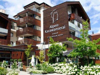Отель Alpen-Karawanserai Time Design Hotel 4* Хинтерглемм Австрия