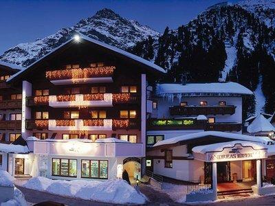 Отель Andreas Hofer Family Wellness Hotel 4* Пицталь Австрия