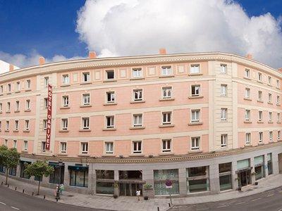Отель Ganivet Hotel 3* Мадрид Испания