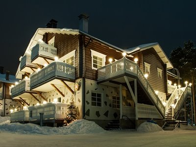 Отель Alppi E8 5* Леви Финляндия