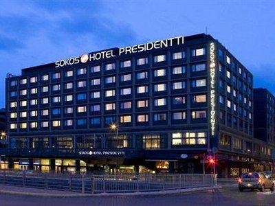 Отель Original Sokos Hotel Presidentti 4* Хельсинки Финляндия