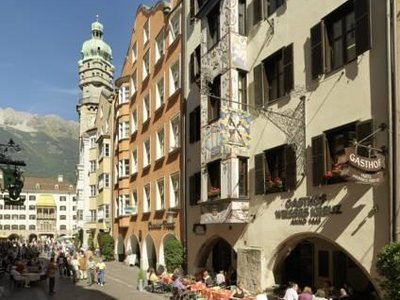 Отель Weisses Kreuz Hotel 3* Инсбрук Австрия