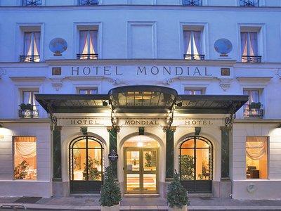 Отель Mondial Hotel 3* Париж Франция