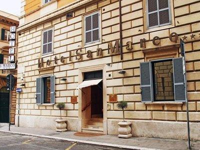 Отель San Marco Hotel 3* Рим Италия