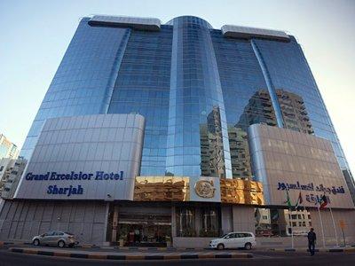 Отель Grand Excelsior Hotel Sharjah 5* Шарджа ОАЭ