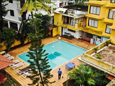Отель Peninsula Beach Resort 2* Северный Гоа Индия