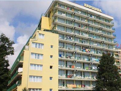 Отель Varshava Hotel 2* Золотые пески Болгария