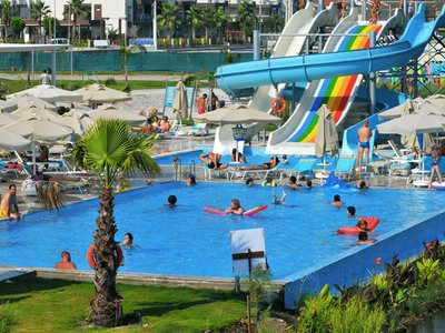 Отель Jiva Beach Resort 5* Фетхие Турция