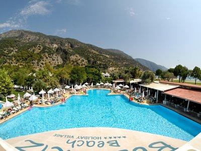Отель Belcekiz Beach Club 5* Фетхие Турция