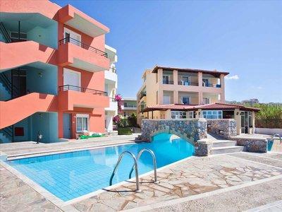 Отель Dedalos Beach Hotel 3* о. Крит – Ретимно Греция