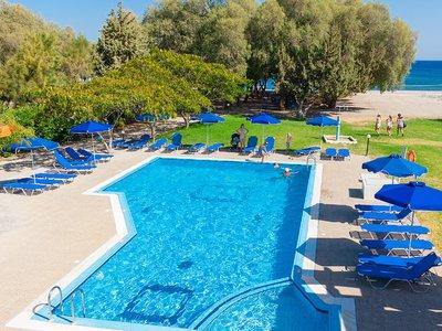 Отель Stafilia Beach Hotel 3* о. Родос Греция