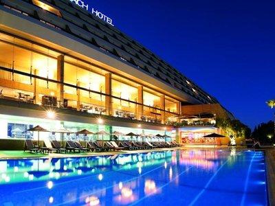 Отель Amathus Beach Hotel 5* Лимассол Кипр