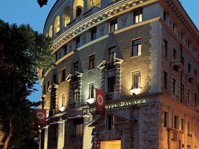 Отель Grand Hotel Palace 4* Рим Италия