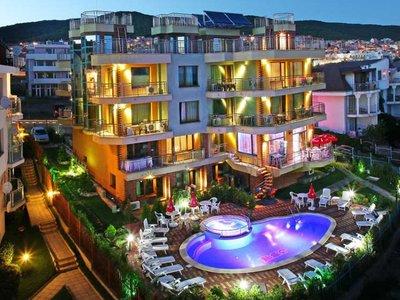 Отель JBH Hotel 3* Святой Влас Болгария