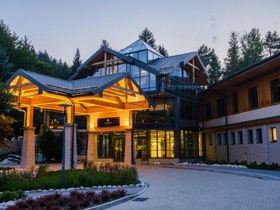 Отель Czarny Potok Resort & Spa 4* Крыница Польша