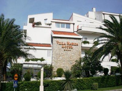 Отель Villa Marija Hotel 4* Тучепи Хорватия