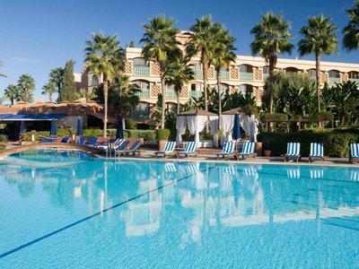 Отель Le Meridien N'Fis 5* Марракеш Марокко