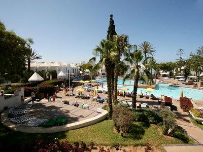 Отель Caribbean Village Agador & El Pueblo Tamlelt 3* Агадир Марокко
