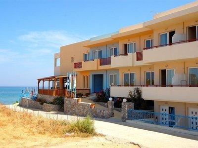 Отель Danaos Beach 2* о. Крит – Ретимно Греция