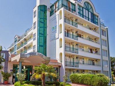 Отель Perla Plaza 3* Приморско Болгария