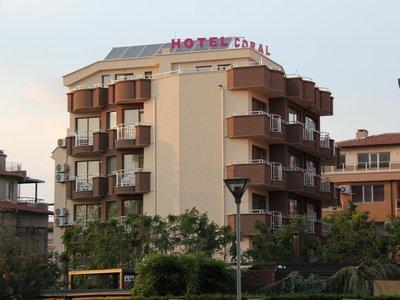 Отель Coral Family Hotel 3* Поморие Болгария
