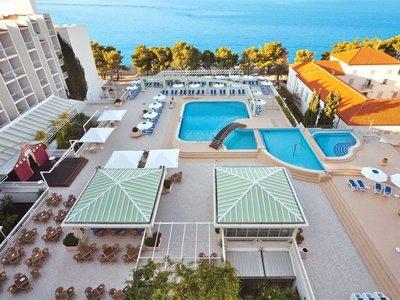 Отель Bluesun Alga 4* Тучепи Хорватия