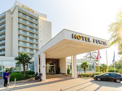 Отель Punta Hotel 4* Водице Хорватия