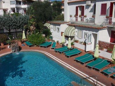Отель Tina Villa 3* о. Искья Италия