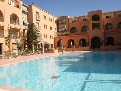 Отель Alhambra Thalasso Yasmine Hammamet 5* Хаммамет Тунис