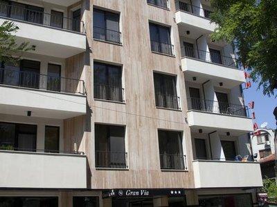 Отель Gran Via Hotel 3* Бургас Болгария