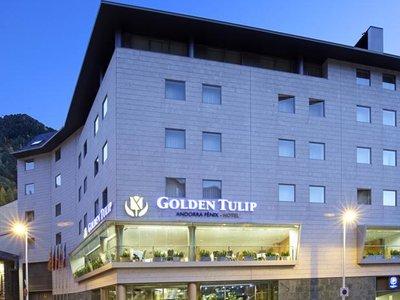 Отель Golden Tulip Andorra Fenix Hotel 4* Эскальдес - Энгордани Андорра
