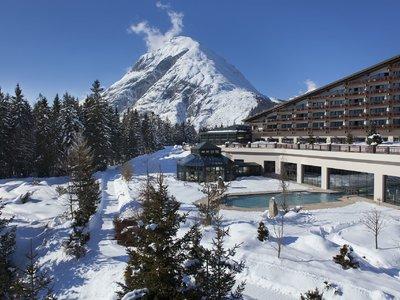 Отель Interalpen-Hotel Tyrol 5* Зеефельд Австрия