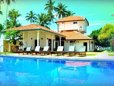 Отель White Rose Beach Resort 3* Маравила Шри-Ланка