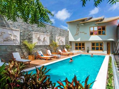 Отель Kaani Village & Spa 4* Южный Мале Атолл Мальдивы