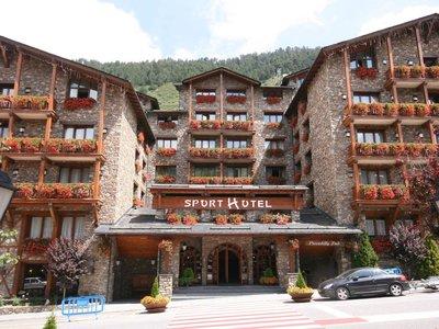 Отель Sport Hotel 4* Сольдеу - Эль Тартер Андорра