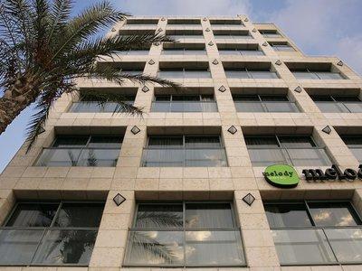 Отель Melody Hotel 4* Тель-Авив Израиль
