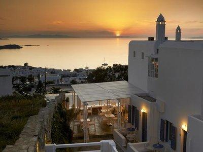 Отель Damianos Hotel 2* о. Миконос Греция