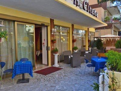 Отель Cirene Hotel 3* Римини Италия