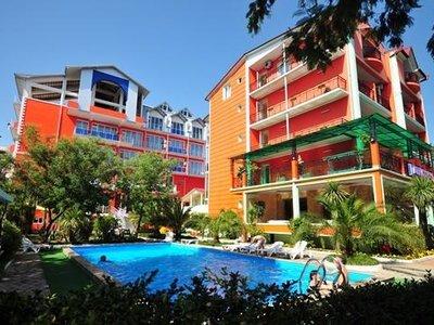 Отель Albatros Hotel 3* Уреки Грузия