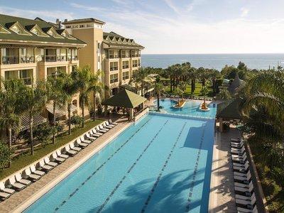 Отель Alva Donna Beach Resort Comfort 5* Сиде Турция