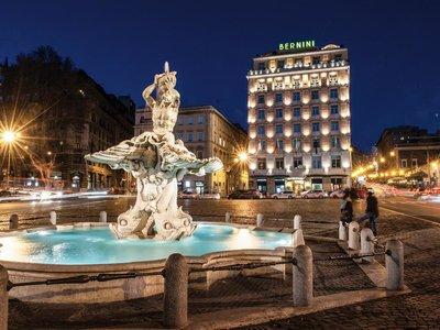 Отель Sina Bernini Bristol 5* Рим Италия