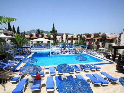 Отель Summer Garden Apart Hotel 3* Бодрум Турция