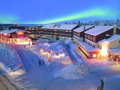 Отель Hullu Poro Hotel 3* Леви Финляндия